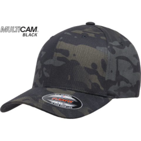Кепка FlexFit 6277MC MULTICAM Black