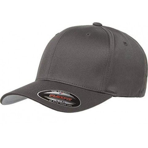 Кепка FlexFit 6277 Wooly Combed Dark Grey