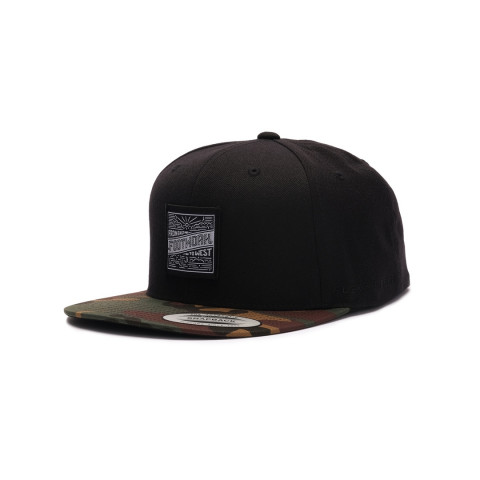 Кепка Footwork East Square Black/Camo