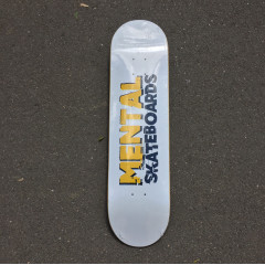 Дека Mental Skateboards White 8.125""