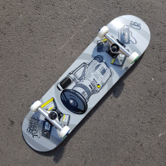 "Скейтборд Footwork Carbon TUSHEV 1000 8.25"""