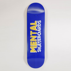 Дека Mental Skateboards Blue 8.375""