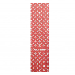 Шкурка Louis Vuitton x Supreme red