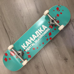 "Скейтборд Mental Skateboards Канадка Tiffany 8.5"" NEW"