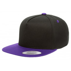 Кепка FlexFit 6007T - Classic Snapback Black/Purple