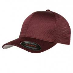 Кепка FlexFit Athletic Mesh Maroon