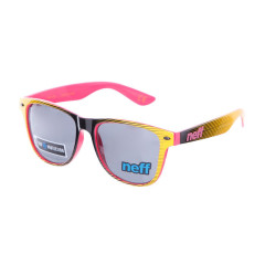 Очки Neff Daily Shades Black/Yellow/Pink